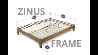 Zinus Wood Bed Frame Review
