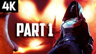 DESTINY 2 Gameplay Part 1 - DESTINY 2 4K PS4 PRO Gameplay Walkthrough Intro/Mission 1