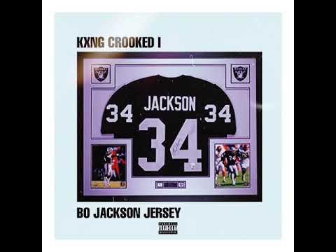 """size 40 5fc34 65368 KXNG CROOKED: WEEK 21 """"BO JACKSON JERSEY"""""""
