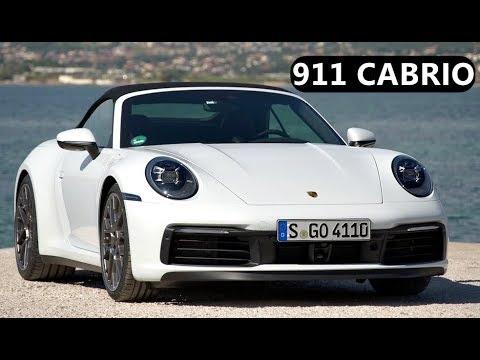 2020 Porsche 992 911 Carrera S Cabriolet – Miami Blue