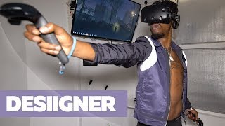 Desiigner In Virtual Reality on Hot In Tech