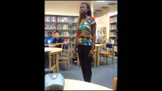 FBISD Poetry Slam, Fall 2012; A Killer