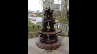 Памятники котам и кошкам