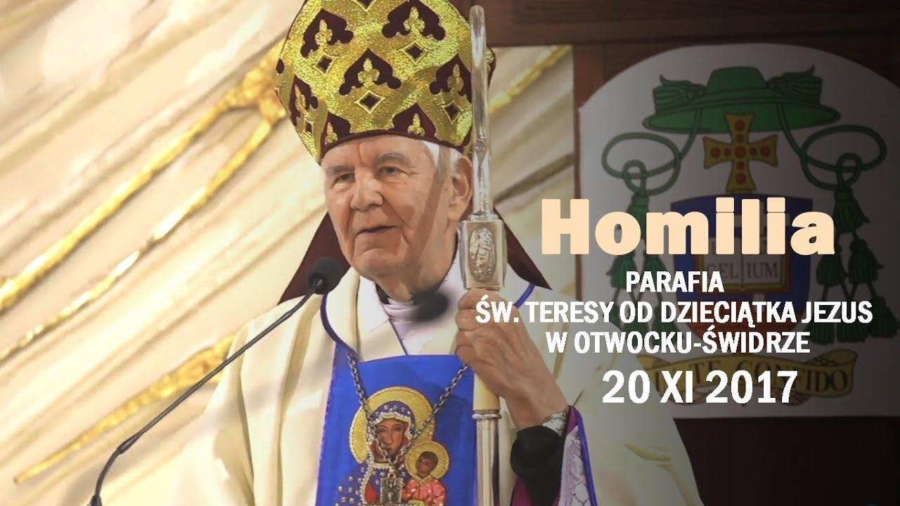 Bp K. Romaniuk: Ocalenie Narodu dokona się przez Maryję (homilia 20 XI 2017 r.)