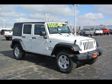 2015 jeep wrangler unlimited sport for sale dayton troy piqua sidney ohio 27270t youtube. Black Bedroom Furniture Sets. Home Design Ideas