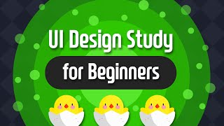 초보 UI 디자이너를 위한 UI 스터디 방법 ( UI Design Study for Beginners )