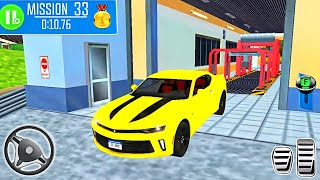 Multi Floor Garage Driver Sport Car - Car Driving Simulator 3D - Android Gameplay