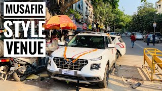Modified Hyundai Venue With Musafir Style Seat Cover | Hyundai Venue Accesories | Car Flooring Video
