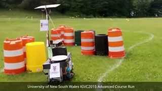 IGVC 2015 UNSW Advanced Course Chase - Speed Record