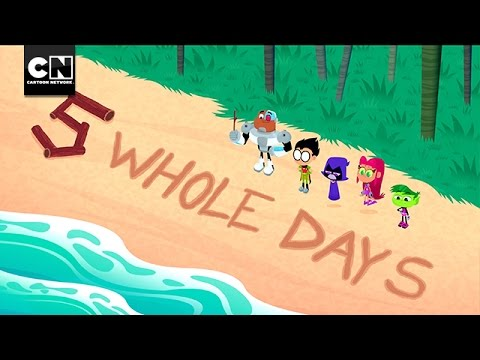 5 Whole Days: Island Mash Up | Teen Titans Go! | Cartoon Network