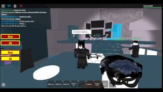 Batman in: Roblox The Red Hood's revenge Part one
