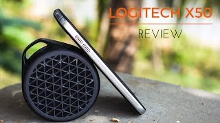 Logitech X50 Bluetooth Speaker Review - You'll be Surprised!!