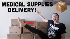 ♡ Medical Supplies: Delivery, Unboxing & Restock [CC] | Amy Lee Fisher ♡
