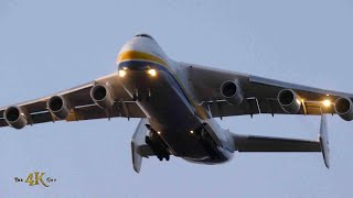 Canada: Unbelievable Antonov airplane landing at Mirabel YMX Airport 5-1-2020