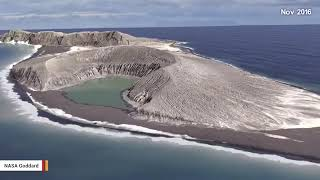 Unit 147 NASA Studies The Birth Of An Unusual New Island