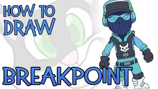 How To Draw Breakpoint (Fortnite Skin)
