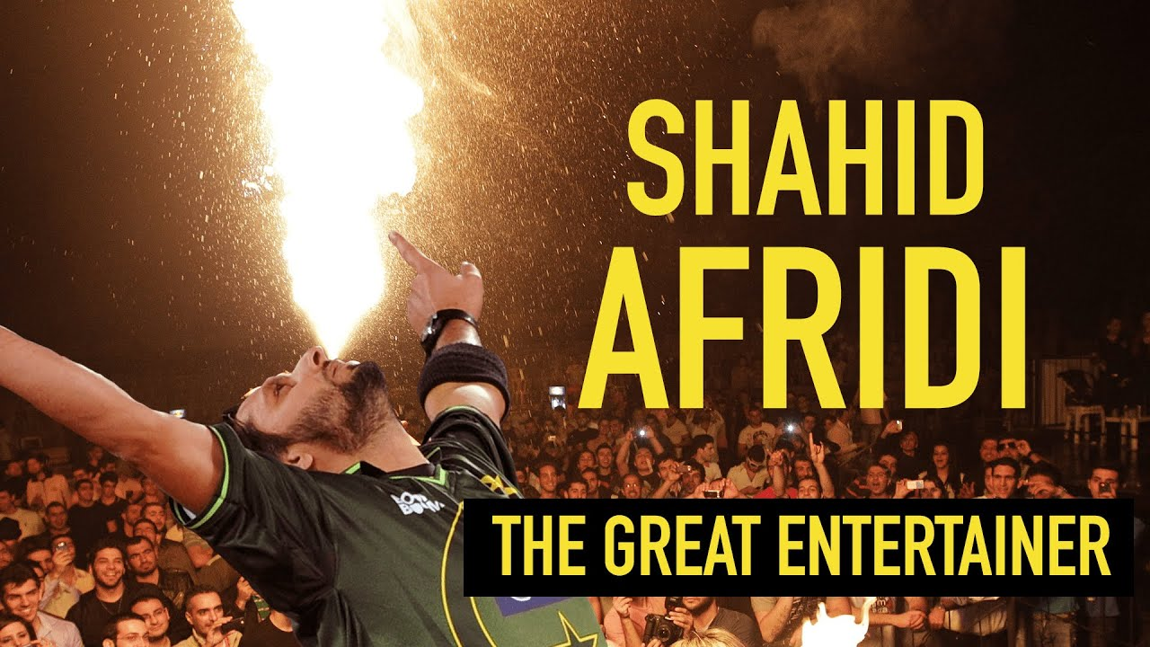 Shahid Afridi – an all-round entertainment package