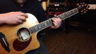 Open Tuning EBEF#G#D# - EM9 in E Major - Finding Contentment