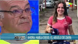 Diego, abuelo de Zaira Rodriguez con Mauro Viale - 18/11/18