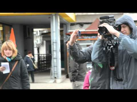 Saint George Flashmob PDA/MK 2014