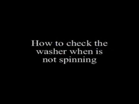 washing machine humming