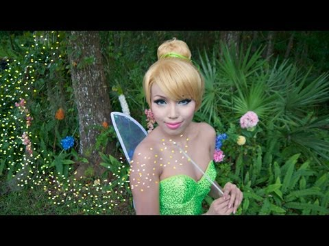 Tinker Bell Make-up Tutorial