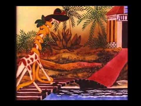 Про жирафа и очки мультфильм