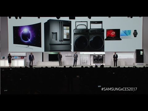 CES 2017 Samsung Press Conference Highlights