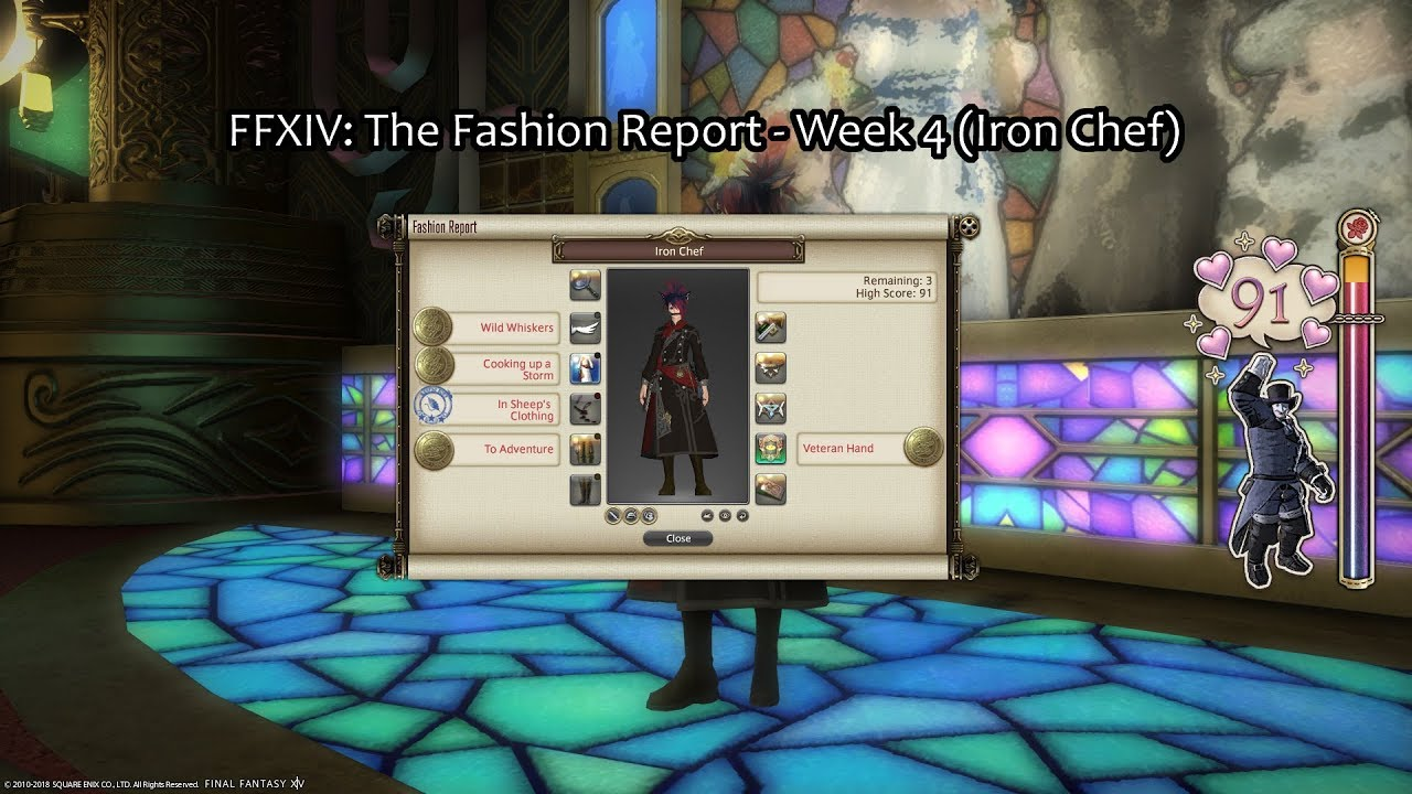 FFXIV: The Fashion Report - Week 4 (Iron Chef)
