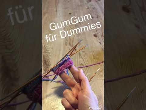 Youtube-Tutorial: GumGum-Socken für Dummies