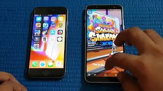 Samsung Galaxy J6 ( 2018 ) vs IPhone 6s - Speed Test!!