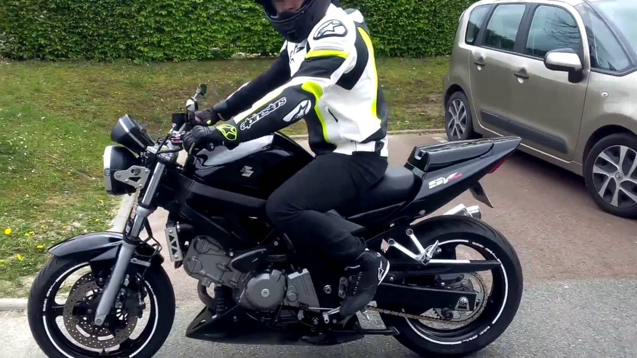 suzuki sv 650 mivv sound youtube. Black Bedroom Furniture Sets. Home Design Ideas