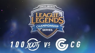 Video 100 vs. CG - Week 9 Day 1 | NA LCS Spring Split | 100 Thieves vs. Clutch Gaming (2018) download MP3, 3GP, MP4, WEBM, AVI, FLV Juni 2018