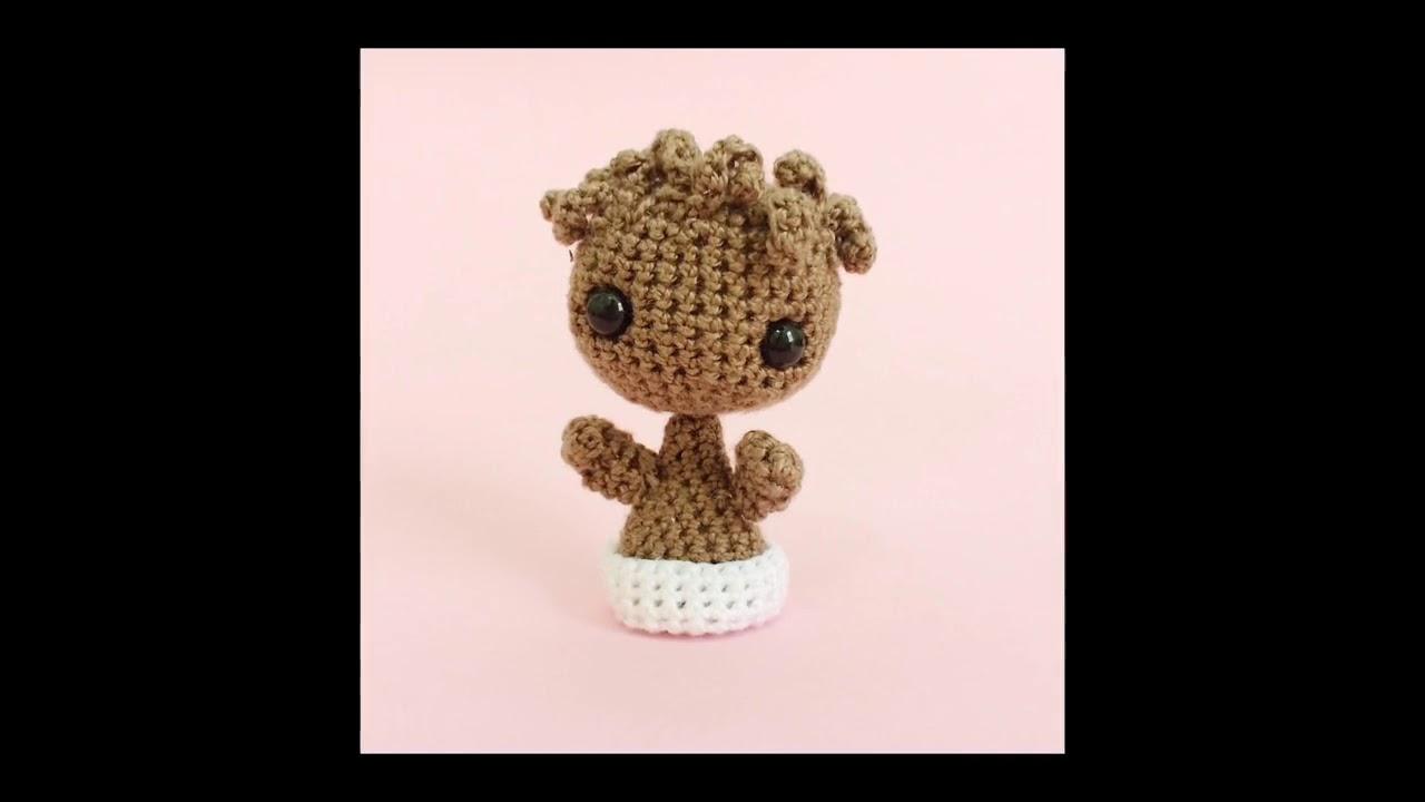 PATTERN - Baby Groot (vol2) - Amigurumi Crochet Pattern | Crochet ... | 720x1280