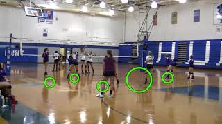 9 8 17 CCHS Volleyball Video Review by Andor Gyulai - Volleyball1on1.com
