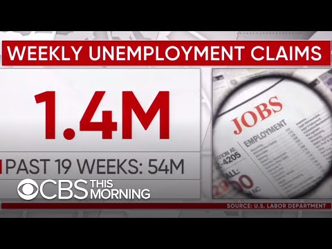 GDP suffers historic drop, weekly unemployment claims rise in ongoing impact from pandemic