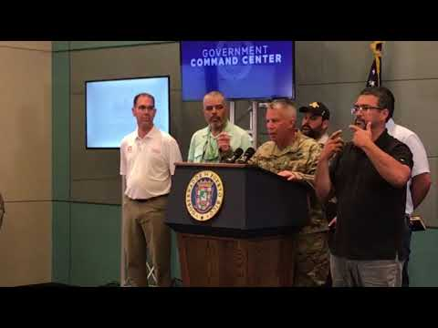 Press Conference: LTG Semonite remarks in Puerto Rico