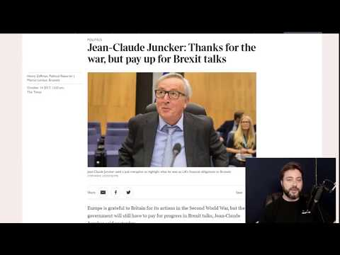 Juncker in a Bar