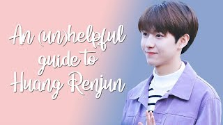 An (un)helpful guide to Huang Renjun