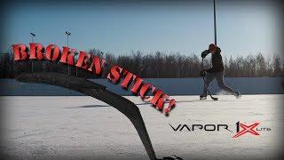 Outdoor Ice Hockey - Bauer vapor 1x -/lite