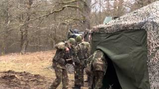 usareur commander visits exercise allied spirit i