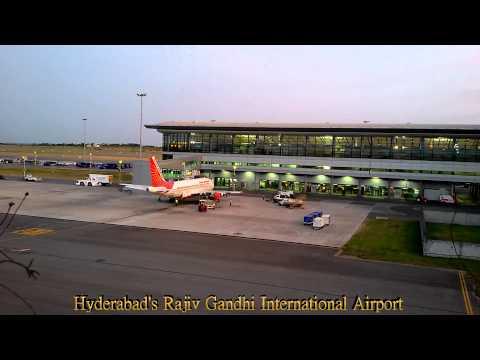 Hyderabad's Rajiv Gandhi International Airport
