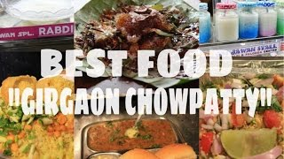 girgaon chowpatty food