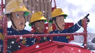 Fireman Sam US 🚒The Incredible Snowman ⛄ Fire Rescue 🔥Best Moments 🔥Kids Movie