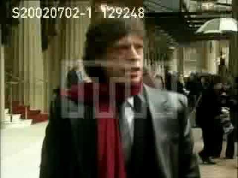 "Sir Michael Philip ""Mick"" Jagger Knight at Buckingham Palace"