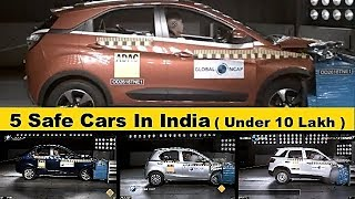 Top 5 Safe Cars In India   Two Tata Cars On The List