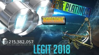 How to Get Platinum For FREE! - Warframe