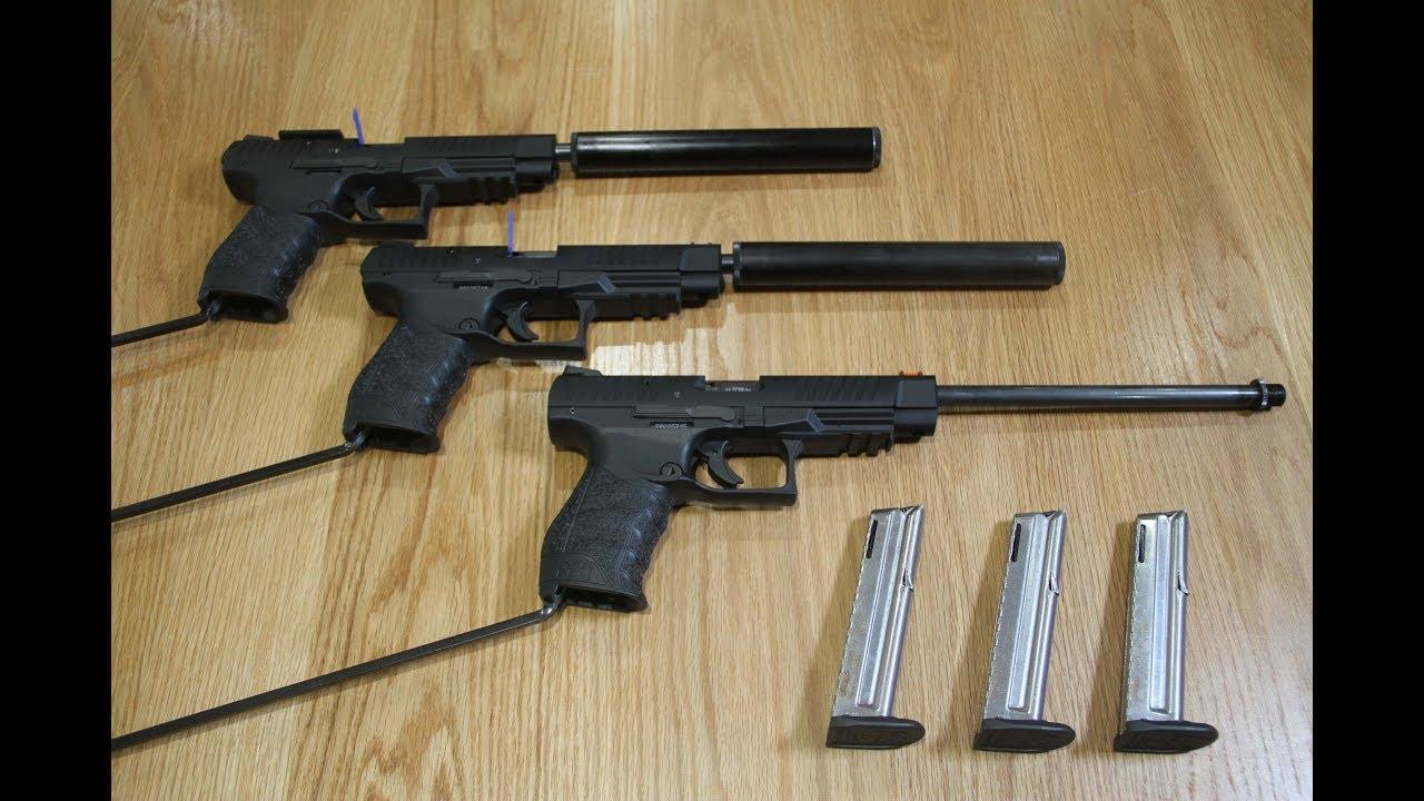 Walther PPQ UK Spec  22lr LBP