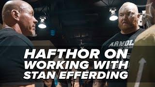 Hafthor Talks Training & Working With Stan Efferding | Power Bite