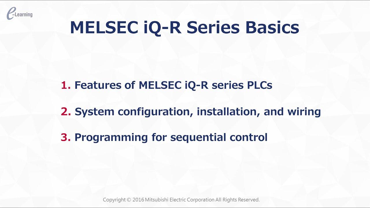 PLC System Configuration/MELSEC iQ-R Series Basics